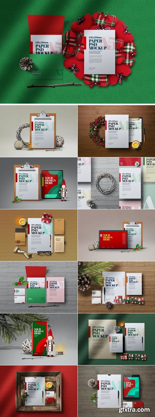 Christmas Mockup Bundle