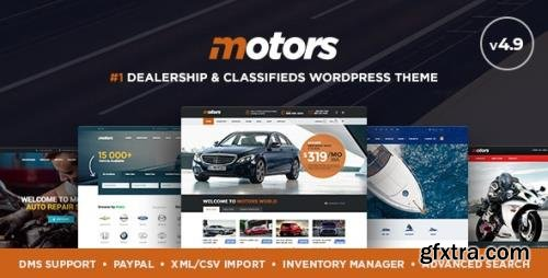 ThemeForest - Motors v4.9.3 - Car Dealer, Rental & Classifieds WordPress theme - 13987211 - NULLED