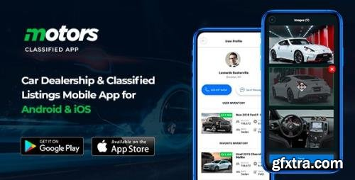CodeCanyon - Motors v1.0.11 - Car Dealership & Classified Listings Mobile App for Android & iOS (Update: 30 September 20) - 24219339