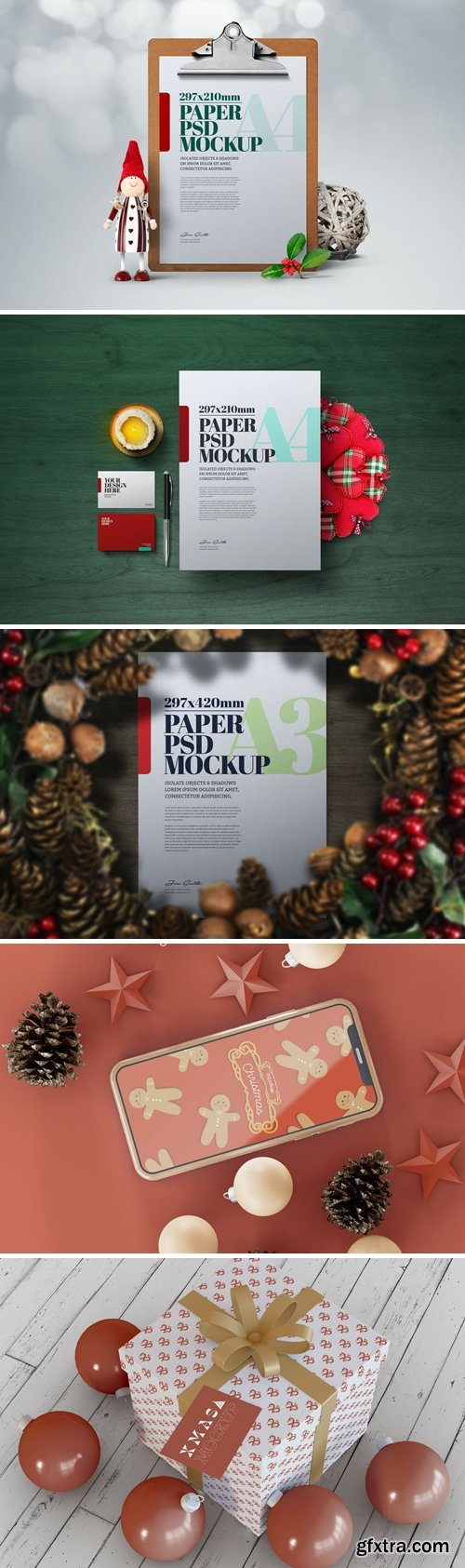 Christmas Mockup