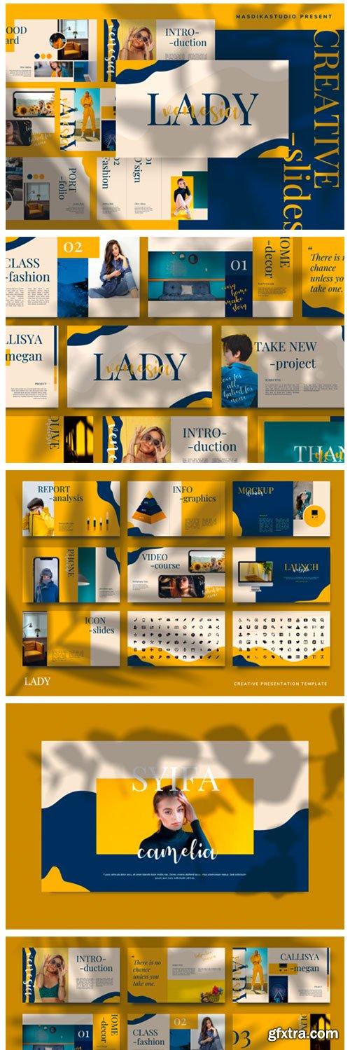 LADY VENESIA - Creative Template 6717465