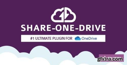 CodeCanyon - Share-one-Drive v1.12.4 - OneDrive plugin for WordPress - 11453104 - NULLED