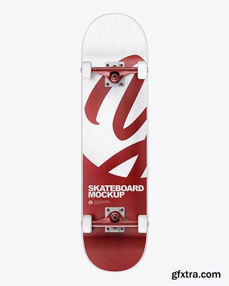 Skateboard Mockup - Front View 68544