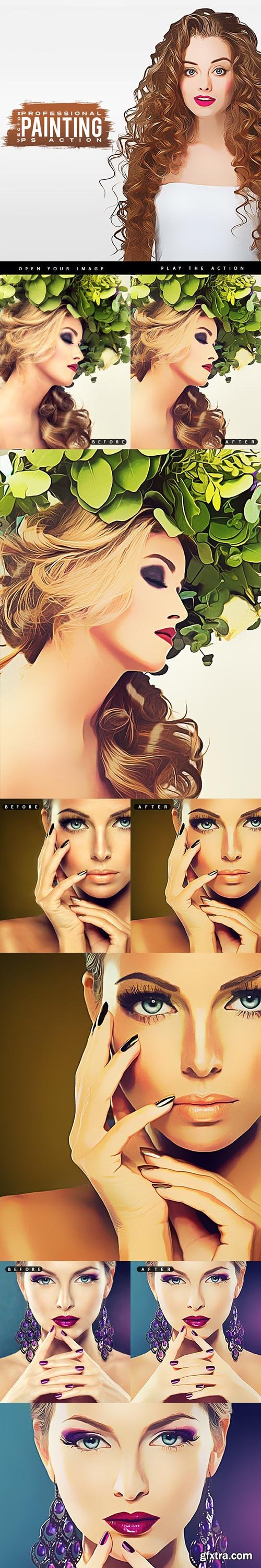 GraphicRiver - Pro Vector Painting - Photoshop Action 28835214