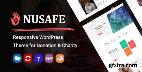 ThemeForest - Nusafe v1.4 - Responsive WordPress Theme for Donation & Charity - 26355978