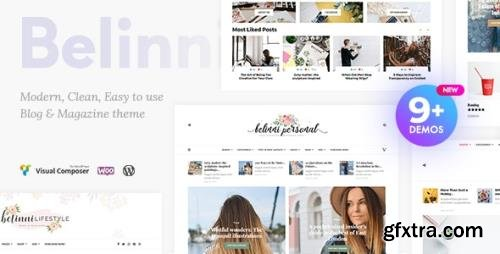 ThemeForest - Belinni v1.5.1 - Multi-Concept Blog / Magazine WordPress Theme - 20107600