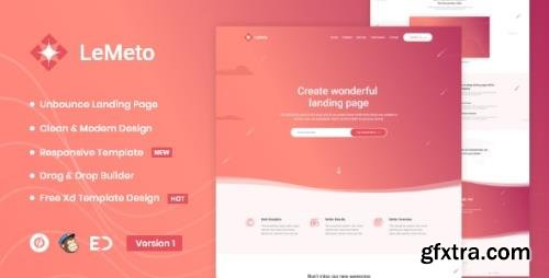 ThemeForest - LeMeto v1.0 - Isometric Business Unbounce Landing Page - 25956386
