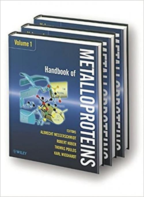 Handbook of Metalloproteins, 3 volume set