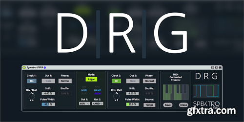 Spektro Audio Spektro DRG v1.0 For MAX 4 LiVE-FLARE
