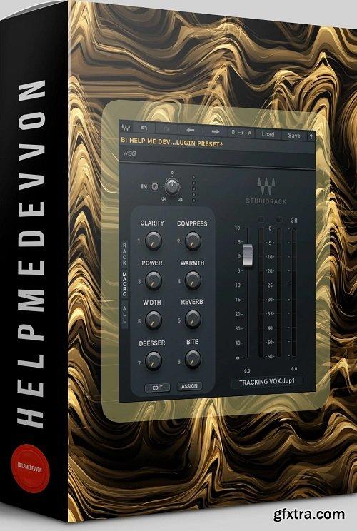 Help Me Devvon Studiorack Vocal Preset For Waves StudioRack-FLARE