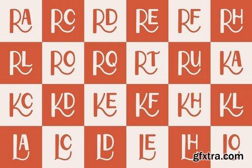CM - Reeline - Luxury Hand Drawn Font 4663684