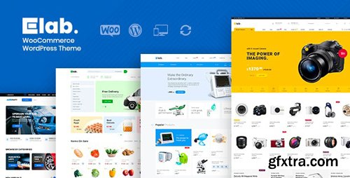 ThemeForest - eLab v1.2.2 - WooCommerce Marketplace WordPress Theme - 23946077 - NULLED