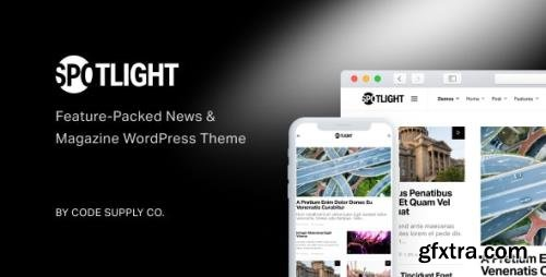 ThemeForest - Spotlight v1.6.3 - Feature-Packed News & Magazine WordPress Theme - 22560532 - NULLED