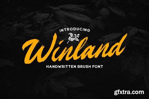 CreativeMarket - Winland - Brush Font - 5447059