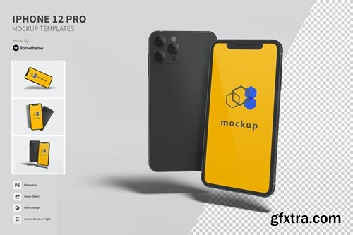 iPhone 12 Pro vol.01 - Mockup VR