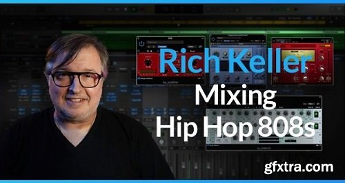 PUREMIX Rich Keller Mixing Hip Hop 808s TUTORiAL-SYNTHiC4TE