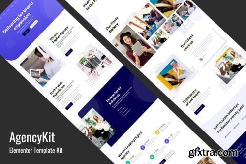 ThemeForest - AgencyKit v1.0 - Portfolio Elementor Template Kit - 29462553