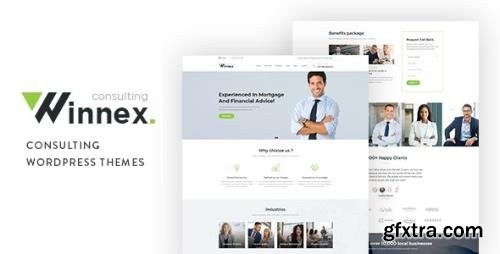 ThemeForest - Winnex v1.1.1 - Business Consulting WordPress Themes - 22765252