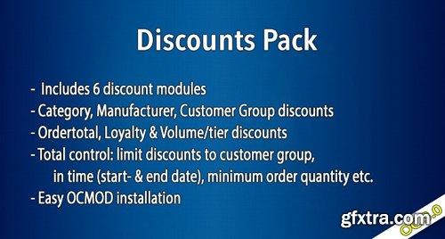 OC3 - Discounts Pack v1.5.1.5 - OpenCart Module