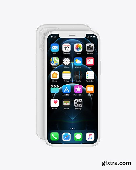 iPhone 12 Pro Front Clay 70056