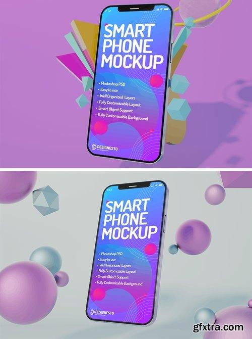 Iphone 12 Innovative – Mockup Template