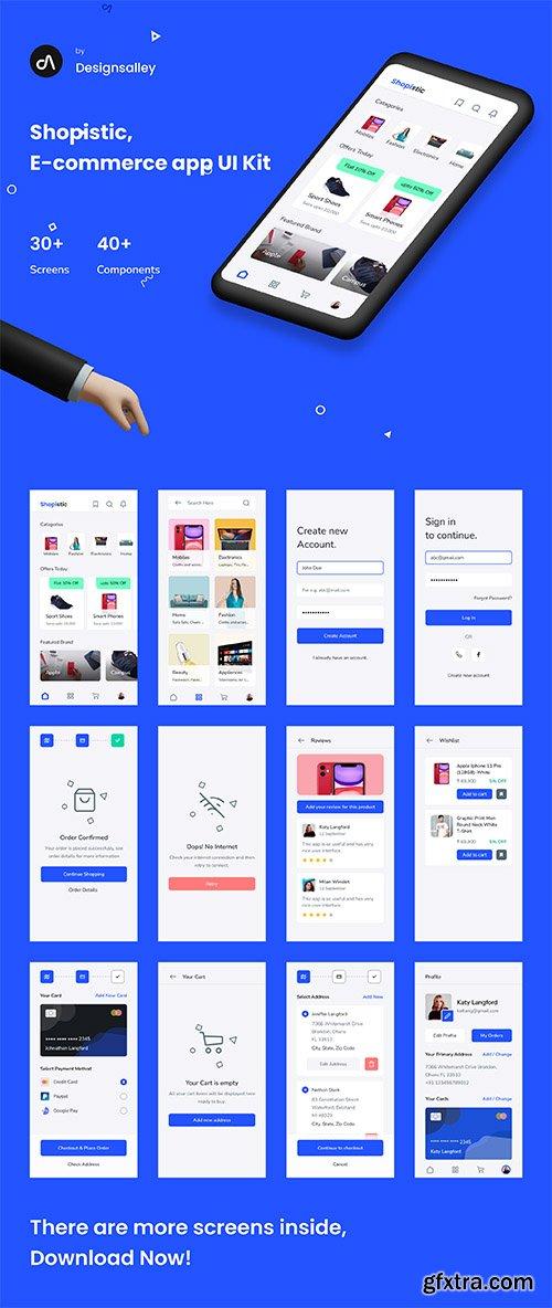 Shopistic - Ecommerce UI Kit
