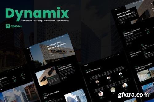 ThemeForest - Dynamix v1.0.0 - Architecture Elementor Template Kit - 29313273