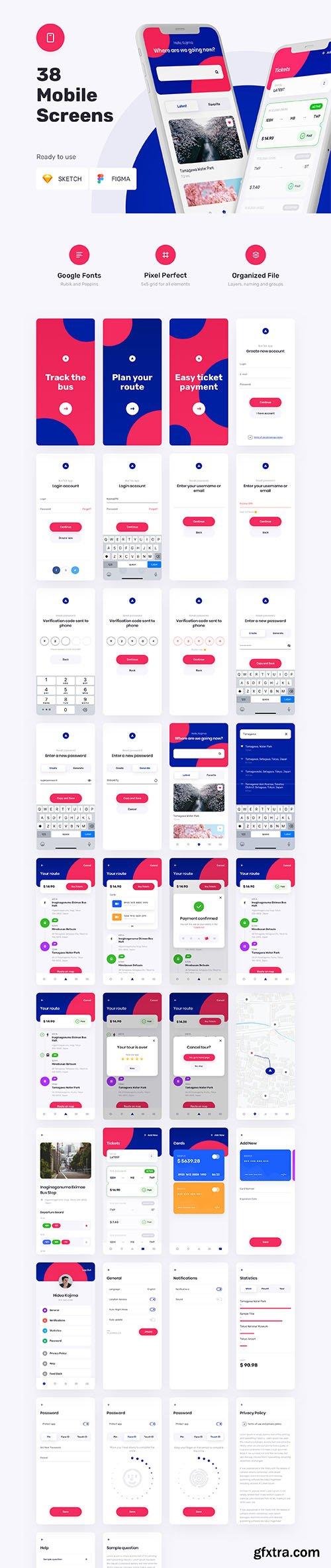 TBusBuy - Public Transport App