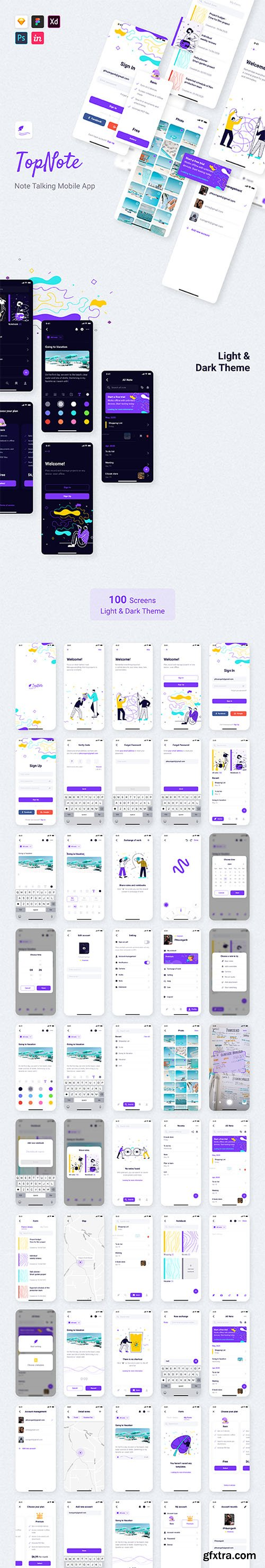 TopNote - Note Talking Mobile App
