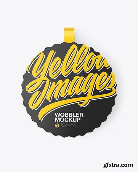 Matte Wobbler Mockup 69965