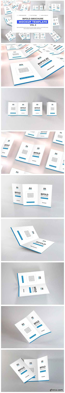 Bifold Brochure Mockup Bundle Vol 2 Font