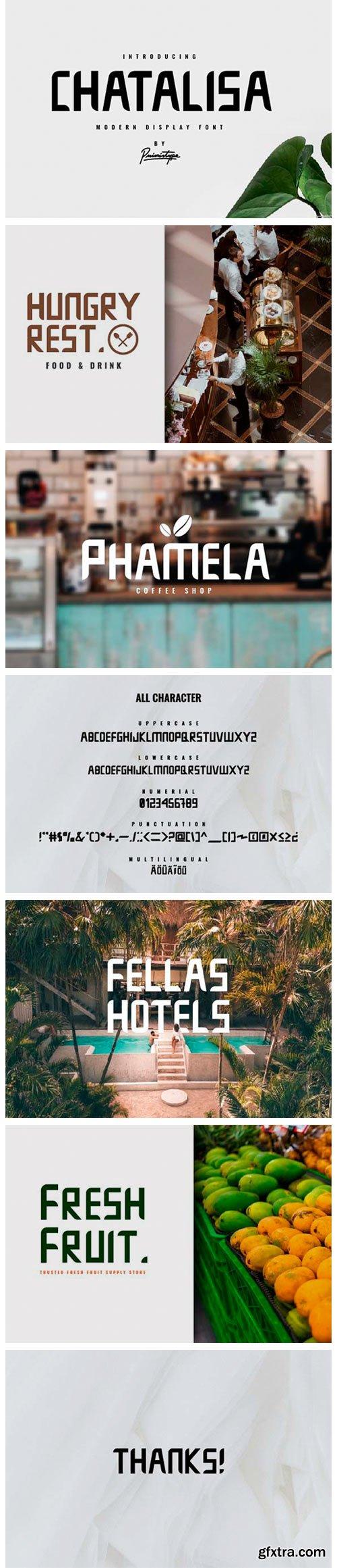 Chatalisa Font
