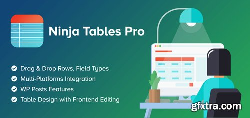 Ninja Tables Pro v4.1.3 - The Fastest and Most Diverse WP DataTables Plugin - NULLED
