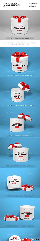 GraphicRiver - Christmas Gift Box Mockup Vol 5 29453741