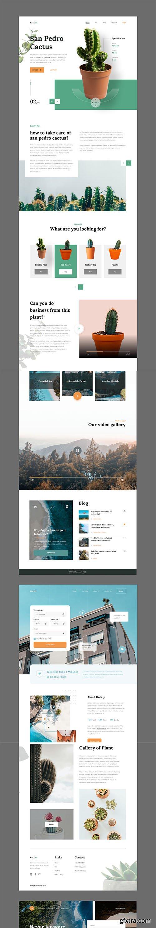 Wiloa 2.0 - Landing Page UI-Kit
