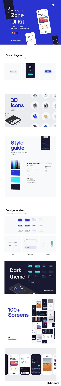 Zone App UI Kit