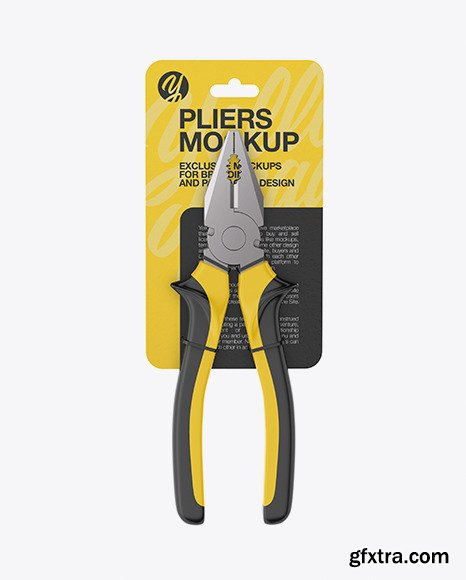 Pliers Mockup 70088