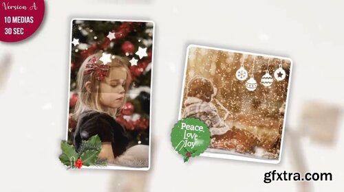 Videohive - Christmas Folded Slideshow - 29359848