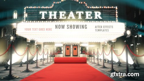 Videohive - Cinema Intro - Curtain Logo Reveal - 29359910