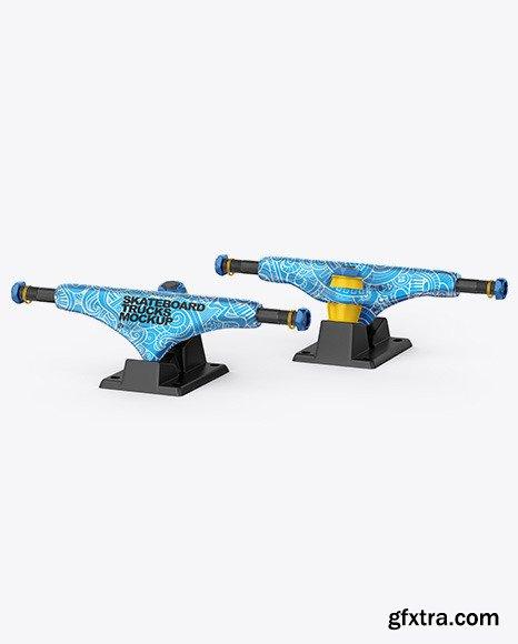 Skateboard Trucks Mockup 69615