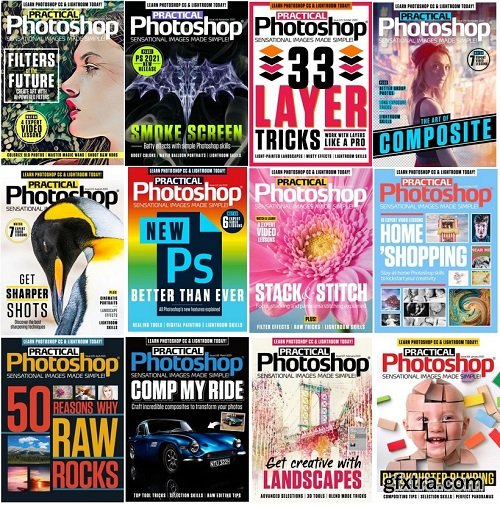 Practical Photoshop - 2020 Full Year Issues Collection