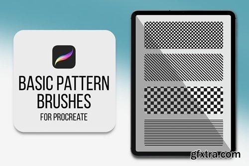 Procreate Pattern Brushes - Basic Pattern