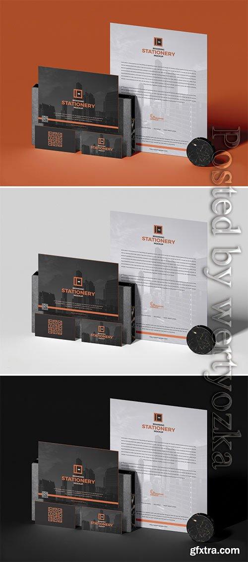Modern Branding Stationery Mockup