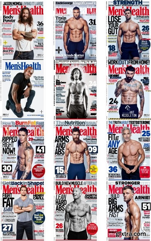 Men\'s Health UK - 2020 Full Year Issues Collection