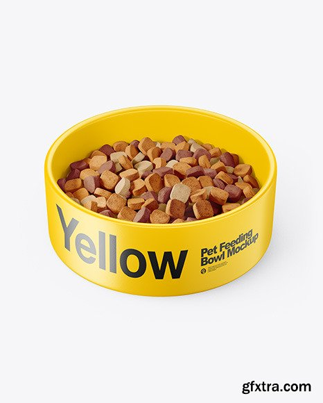 Pet Feeding Bowl Mockup 70121