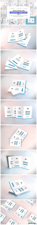 Bifold Brochure Mockup Bundle Vol 1 6695184