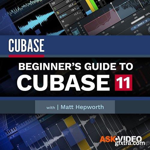 Ask Video Cubase 11 101: Beginners Guide to Cubase 11 TUTORiAL