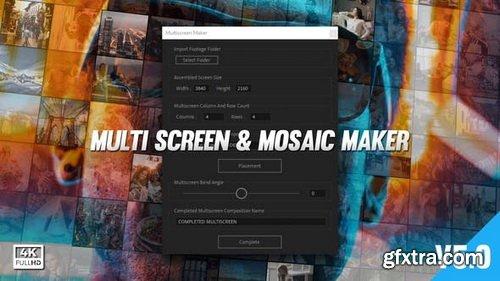 Videohive - Mosaic & Multiscreen Maker Auto V5 - 19277984