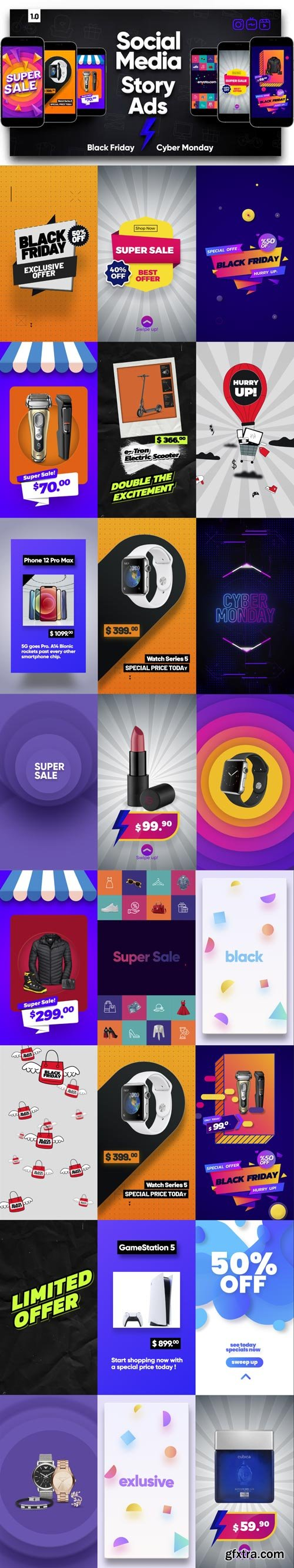 Videohive - Social Media Story Ads - 29246795