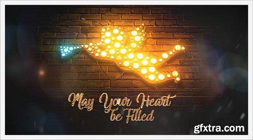 Videohive - Merry Christmas Light Bulbs - 29516457